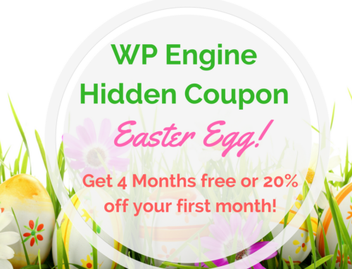 SUPER Cool Easter Egg Hack for Discount Coupon on WP Engine!