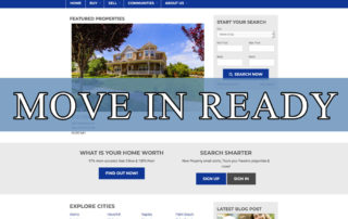 Move in Ready Real Estate Website WordPress Theme by Agent Evolution
